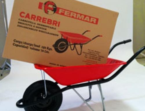 "New:  SECTIONAL WHEELBARROW ""CARREBRI"""